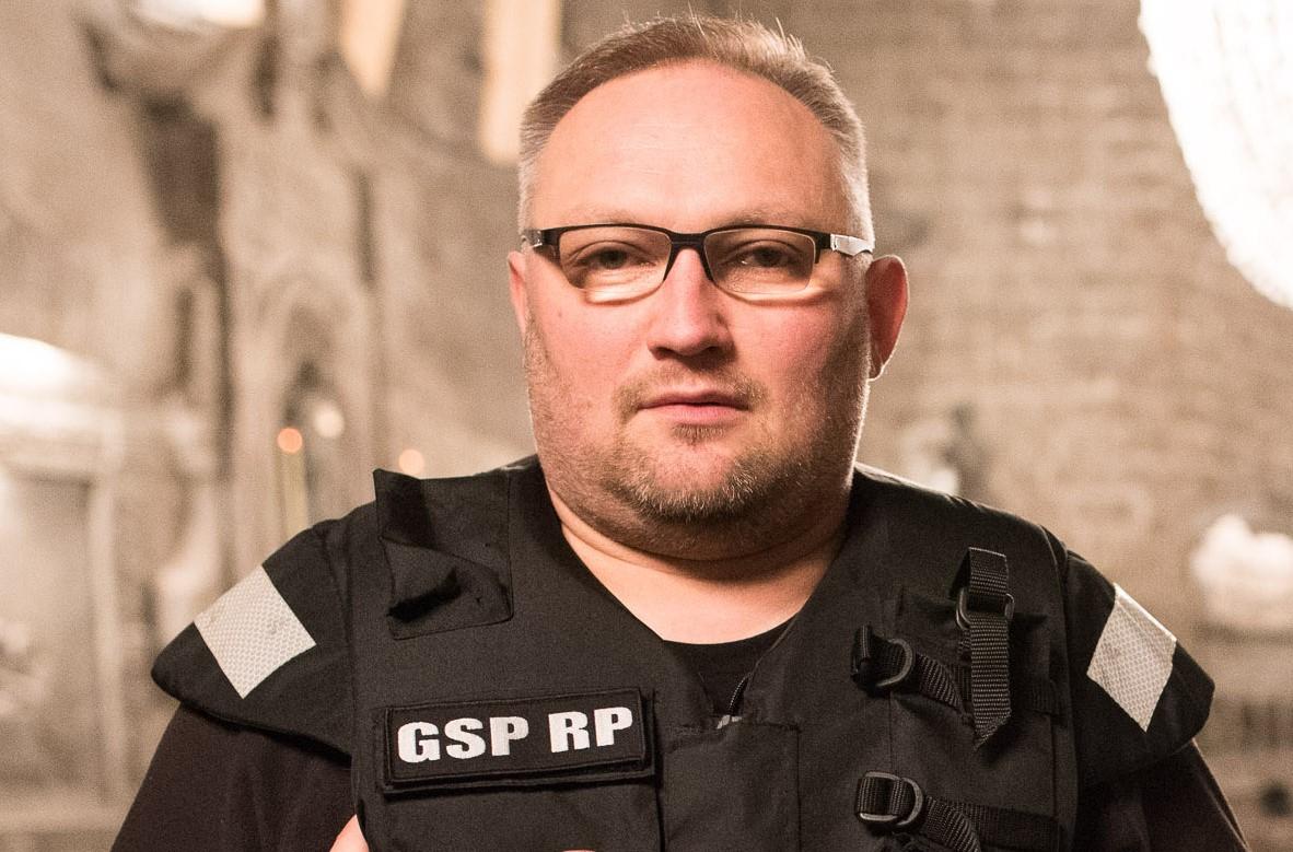 Maciej Rokus, szef Specjalnej Grupy Płetwonurków RP (fot. Archiwum prywatne)