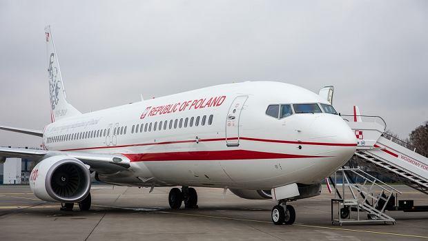 Średni samolot do przewozu VIP-ów. Boeing B737