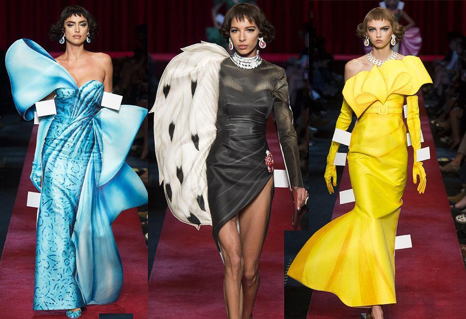 Moda jak z kreskówki - Moschino kolekcja