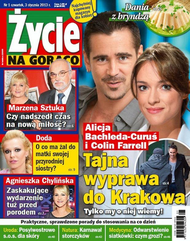 Alicja Bachleda-Curuś, Colin Farrell