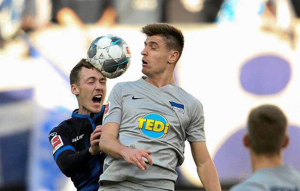 Zaskakująca decyzja ws. Krzysztofa Piątka! Jest skład Herthy na mecz z Hoffenheim