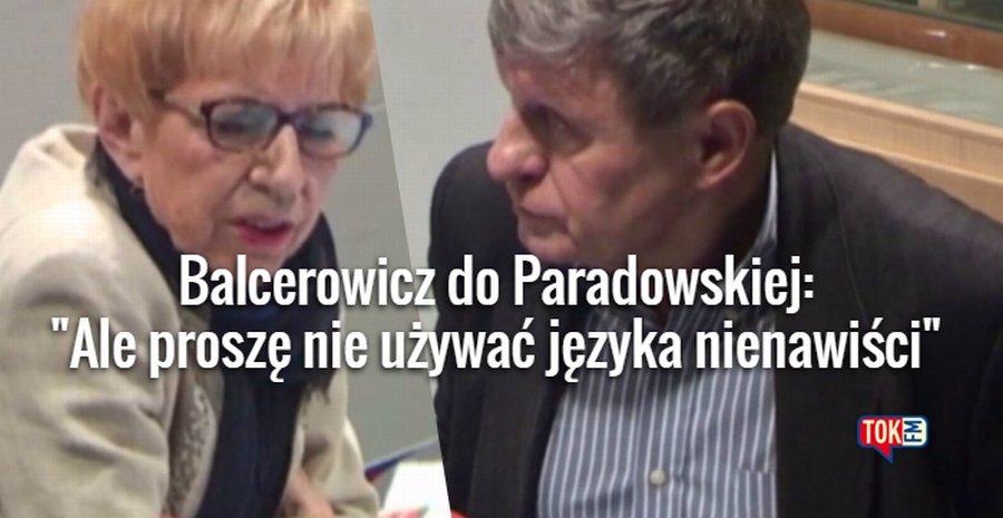 Janina Paradowska i Leszek Balcerowicz