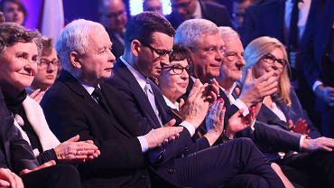 Konwencja PiS w warszawskiej hali Expo