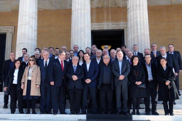 Nowy grecki rząd w pełnym składzie
