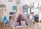 HITowy namiot Tipi - idealny do zabawy w domu i ogrodzie