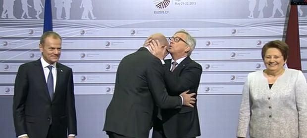 Juncker wita europejskich przywódców