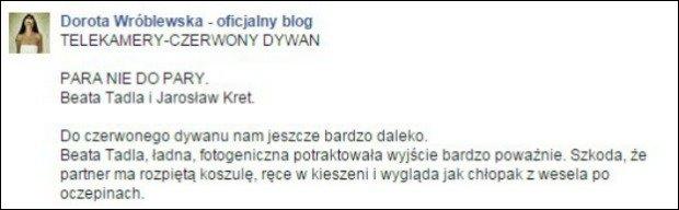 Dorota Wróblewska o Tadli i Krecie