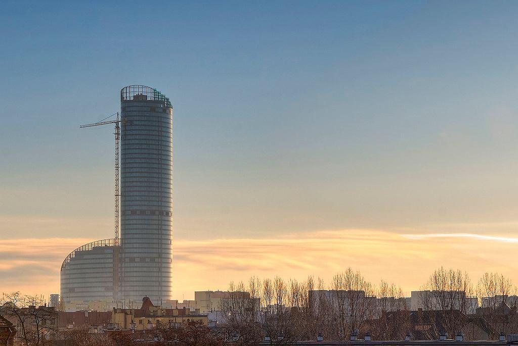Sky Tower w styczniu 2012 r.