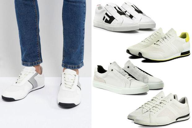 Kolaż / Sneakersy Hugo Boss / Materiały partnerów