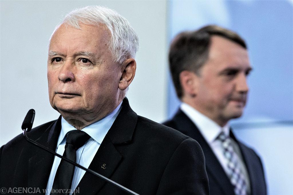 Kaczyński(PiS), Ziobro(Solidarna Polska)