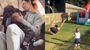 Marina i Liam / Cristiano Ronaldo z bliźniakami