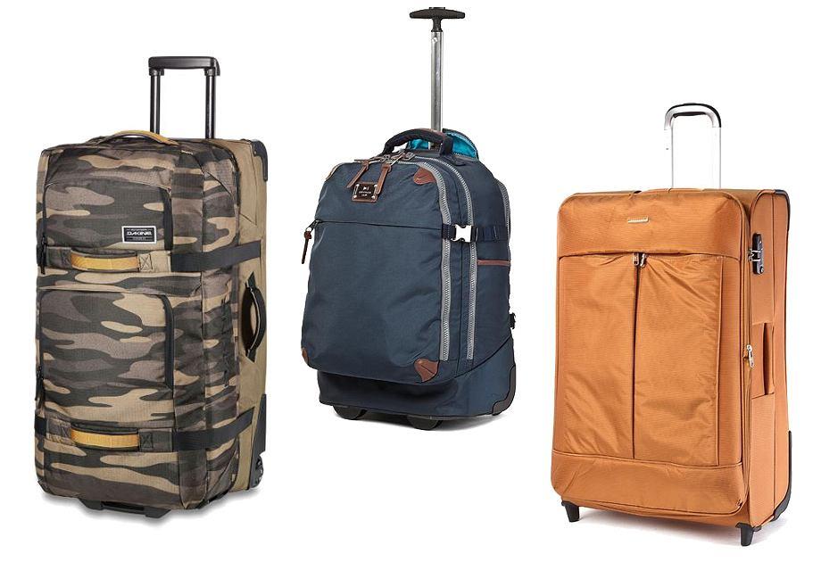 Miękkie walizki