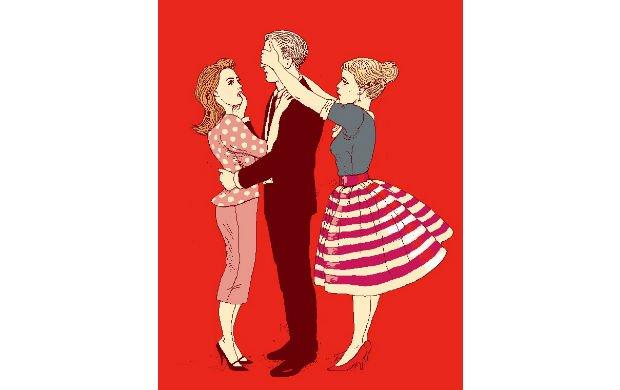 Emocje w pieknych sukienkach.