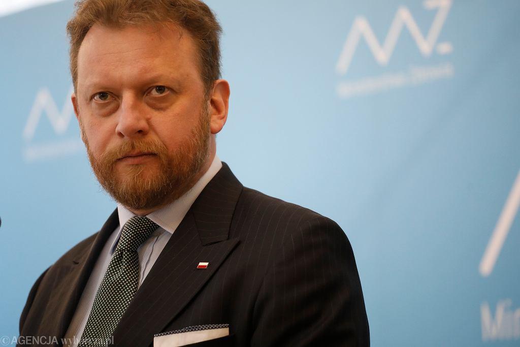 Łukasz Szumowski, minister zdrowia.
