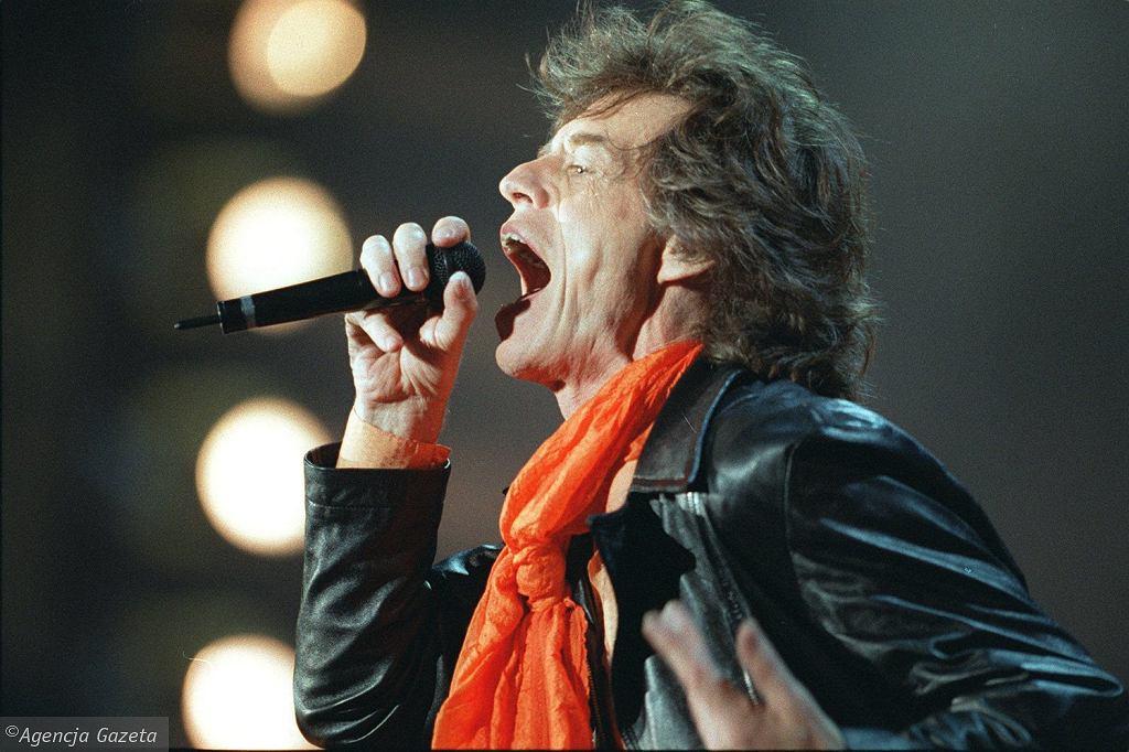 Mick Jagger w Chorzowie - 1998 rok