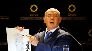 Konferencja prasowa Benjamina Netanjahu