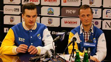 Adrian Miedziński i Robert Kościecha