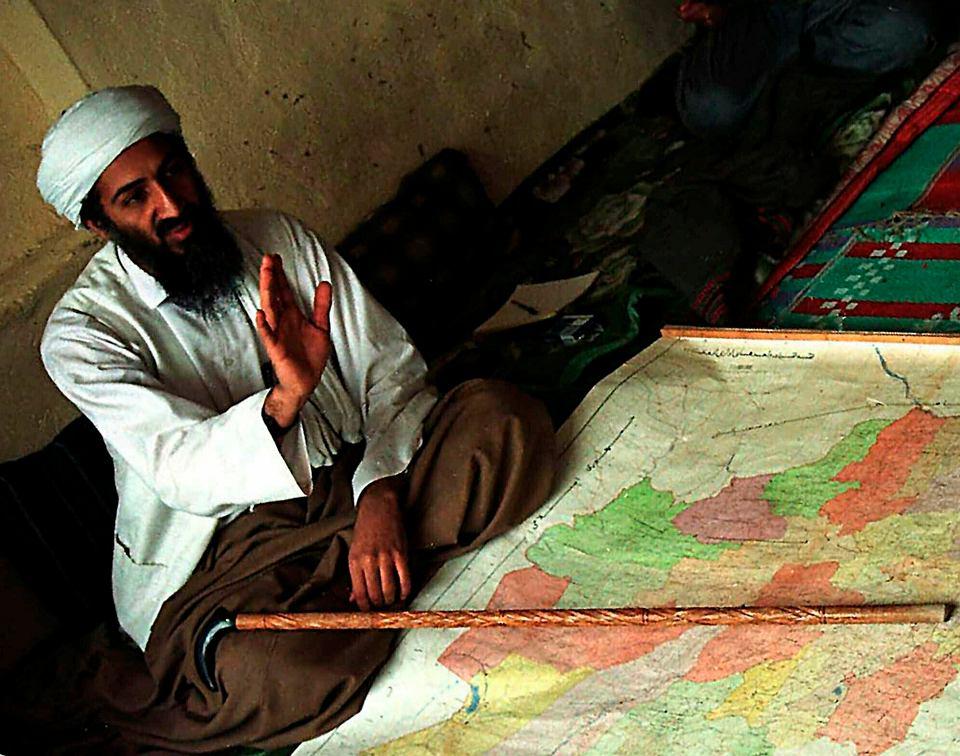 Osama bin Laden, 1998.