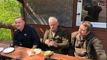Andrzej Duda na spotkaniu z leśnikami
