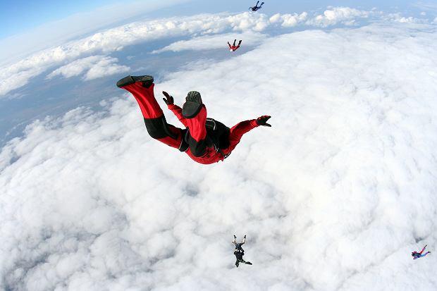 Ekstremalna dawka adrenaliny, paralotnie, spadochrony