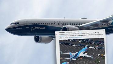 Boeing przechowuje nieodebrane samoloty 737 Max na własnym parkingu