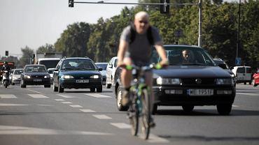 Rower vs samochód