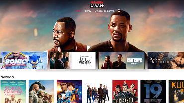 Premiery Canal + to usługa, która umożliwia wypożyczenie filmów online