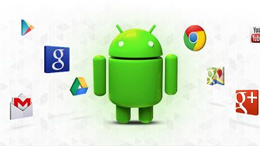 Aplikacje Google na Androidzie