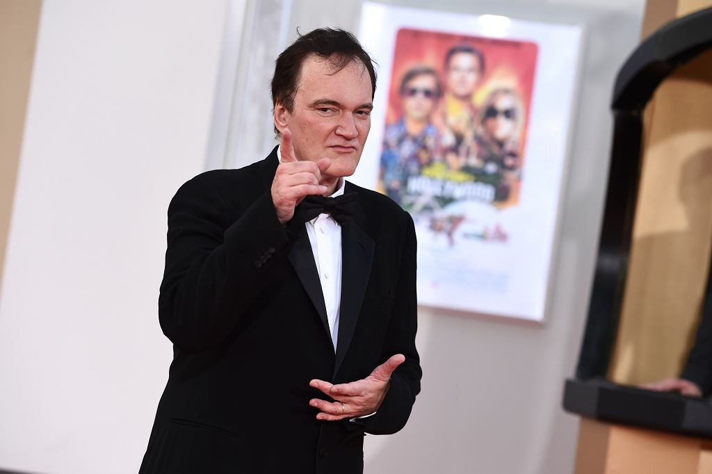 Quentin Tarantino na premierze 'Once Upon a Time in Hollywood'
