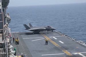 Pierwsza akcja następcy słynnych harrierów. F-35B zaatakował w Afganistanie