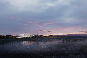 To będzie pierwsza transgraniczna kolejka linowa na świecie. Połączy Rosję z Chinami