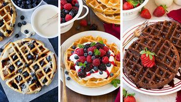 Oto fit przepisy na dietetyczne gofry! Idealne na śniadanie.