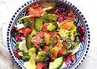 Sałatka z awokado i grejpfruta - bardzo dobre źródło witamin
