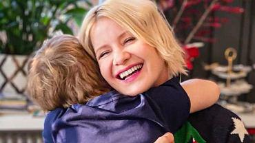 Małgorzata Kożuchowska z synem Jasiem