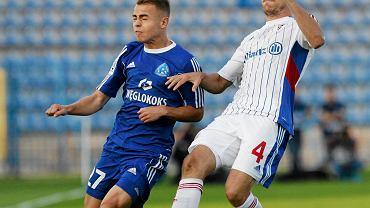 Kamil Mazek w niebieskich barwach