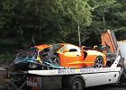 Były kierowca F1 doszczętnie rozbił luksusowe auto! Tylko 20 sztuk na świecie [WIDEO]