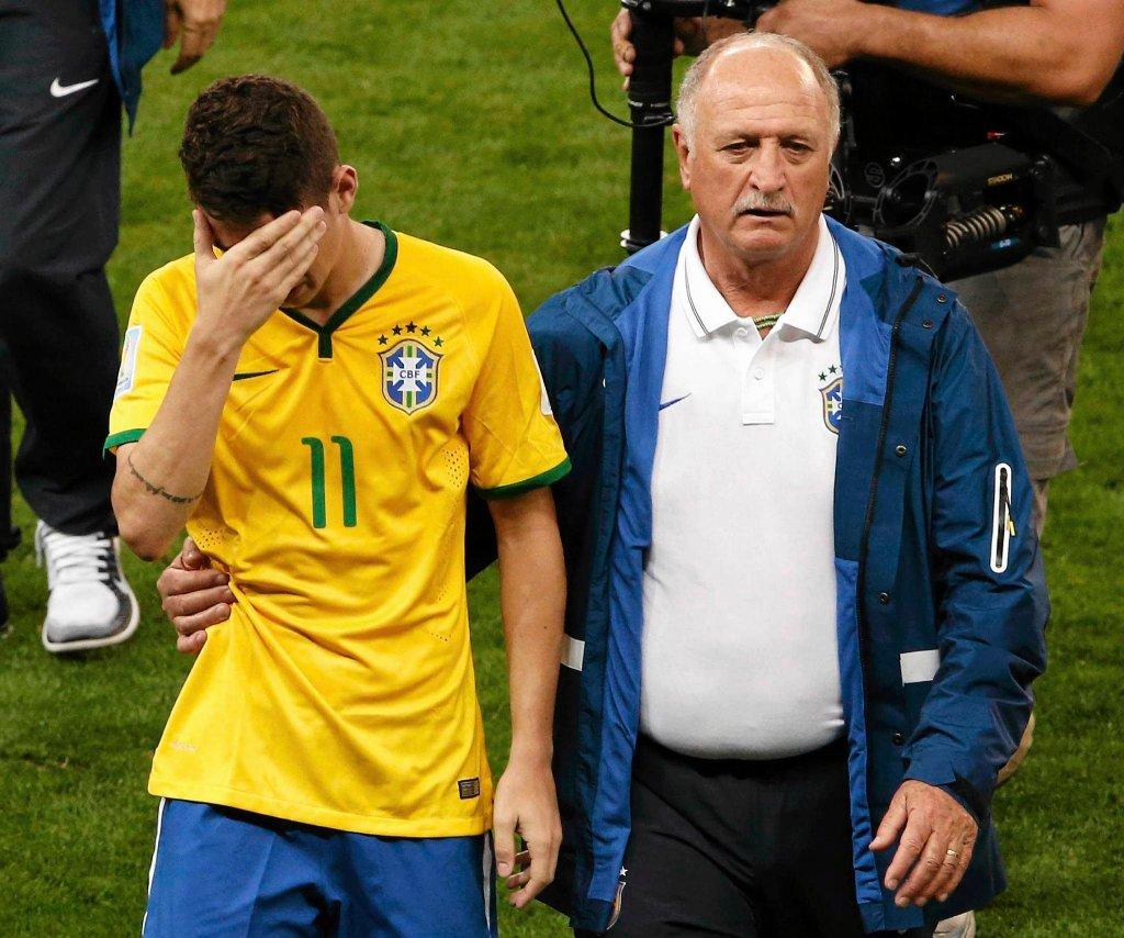 Oscar i Luiz Felipe Scolari