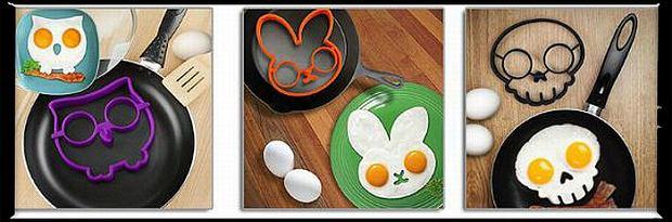 Formy do smażenia jajek, cena: ok. 2 dol. Fot. AliExpress