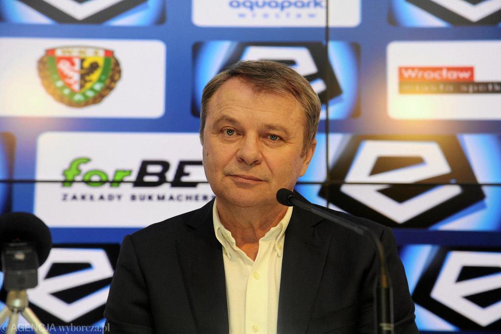 Trener Tadeusz Pawłowski