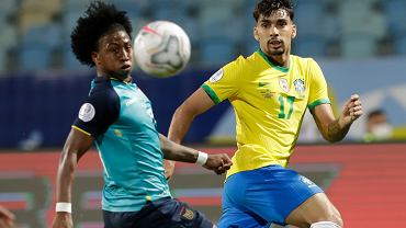 Brazil Ecuador Copa America Soccer
