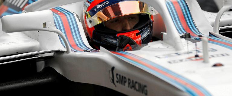 Formuła 1. ''Robert Kubica ma propozycję od Williamsa, ale nie wiadomo czy spełnia wszystkie wymogi''