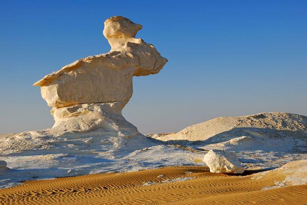 Pustynia Biała w Egipcie / fot. Shutterstock