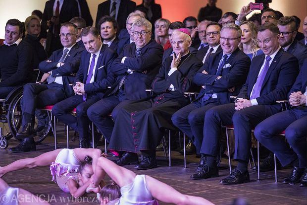 Spotkanie Prezydenta ze środowiskiem sportowym z okazji setnej rocznicy odzyskania niepodleglości
