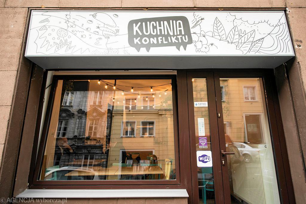 Kuchnia Konfliktu, ul. Wilcza 60.  / DAWID ŻUCHOWICZ