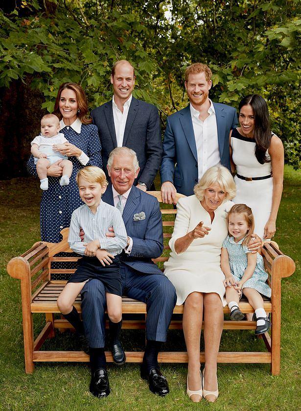 Meghan Markle na pierwszym zdjęciu rodziny królewskiej