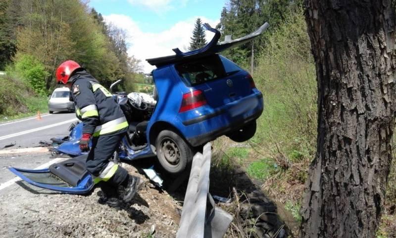 Wypadek w Naściszowej