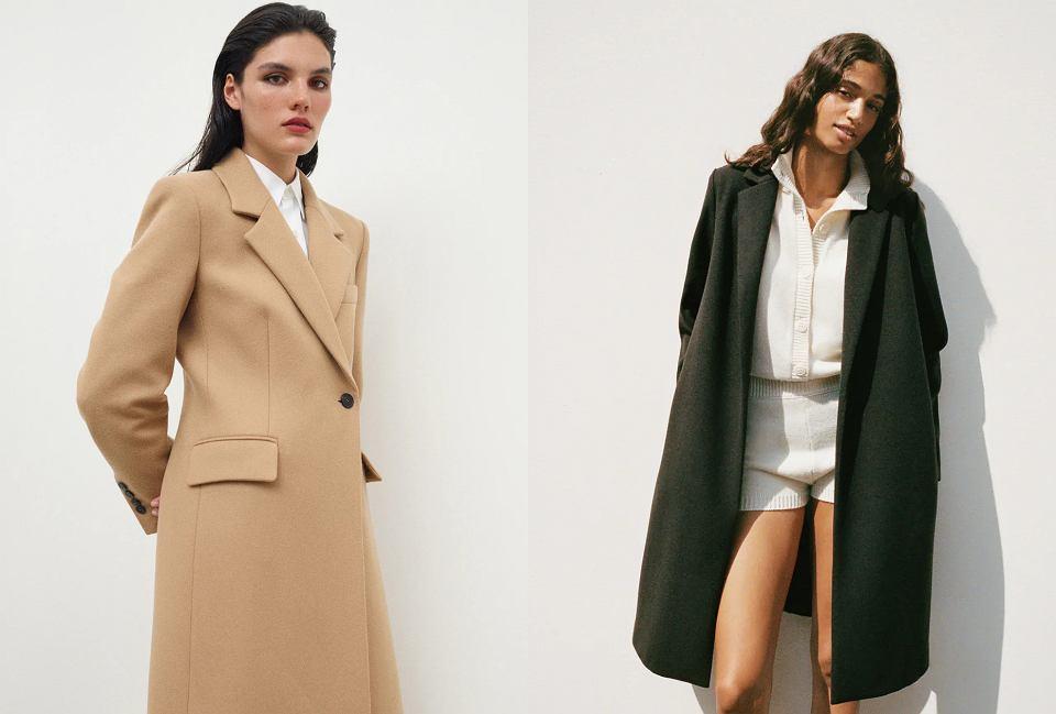 długie płaszcze na jesień 2020
