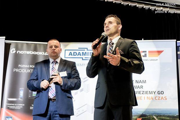 Radosław Rogiewicz (z lewej) i Remigiusz Jezierski