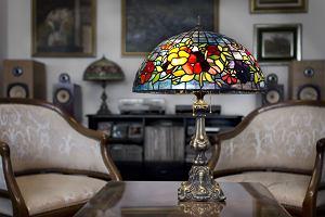 Witrażowe lampy Tiffany - oświetlenie, które robi furorę