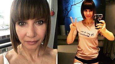 60-letnia Grażyna Wolszczak pokazała brzuch